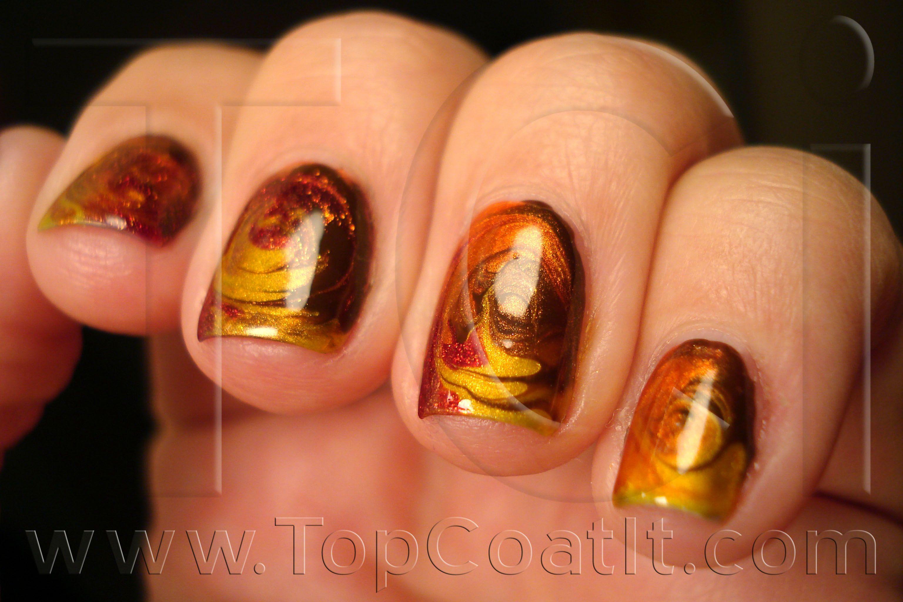 fall nail designs - Google Search   Nails   Pinterest   Marbles ...