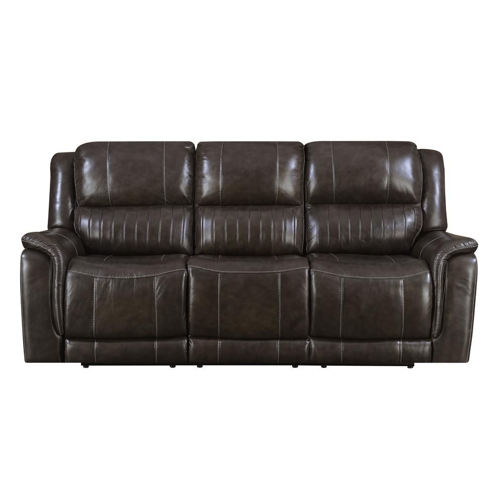Super Brown Hearst Power Reclining Sofa With Power Headrests Frankydiablos Diy Chair Ideas Frankydiabloscom