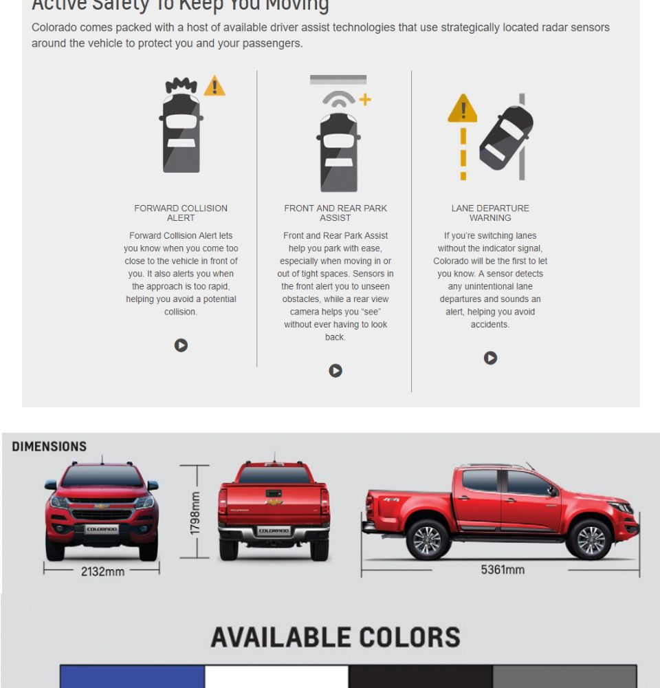 Chevrolet Colorado Reservation Fee In 2020 Chevrolet Colorado Chevrolet Colorado