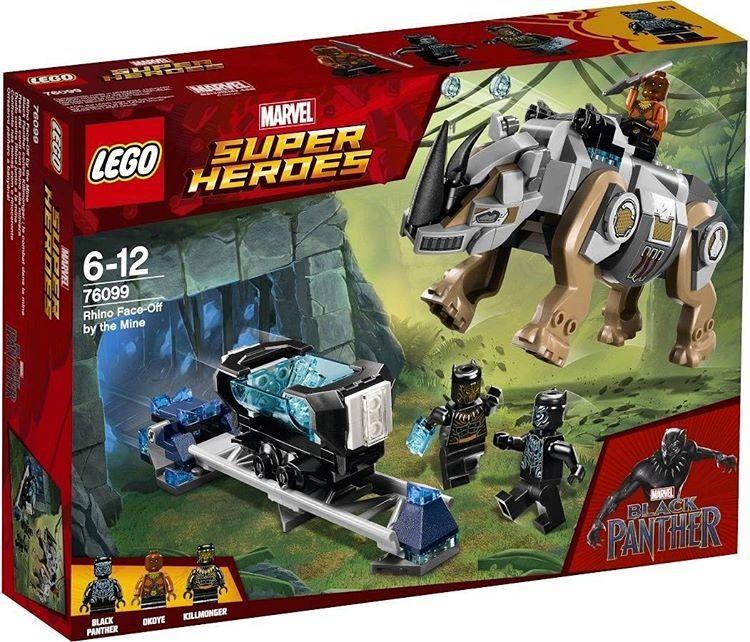 2018 LEGO Marvel Super Heroes Black Panther Set Images