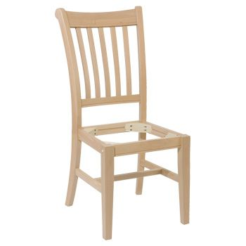 Modern Mission Chair Frame, pick your own seat (wood, rush ...