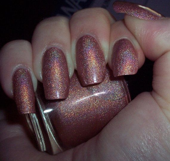 Disco Inferno Holographic Nail Polish MINI by SlickLacquer on Etsy ...