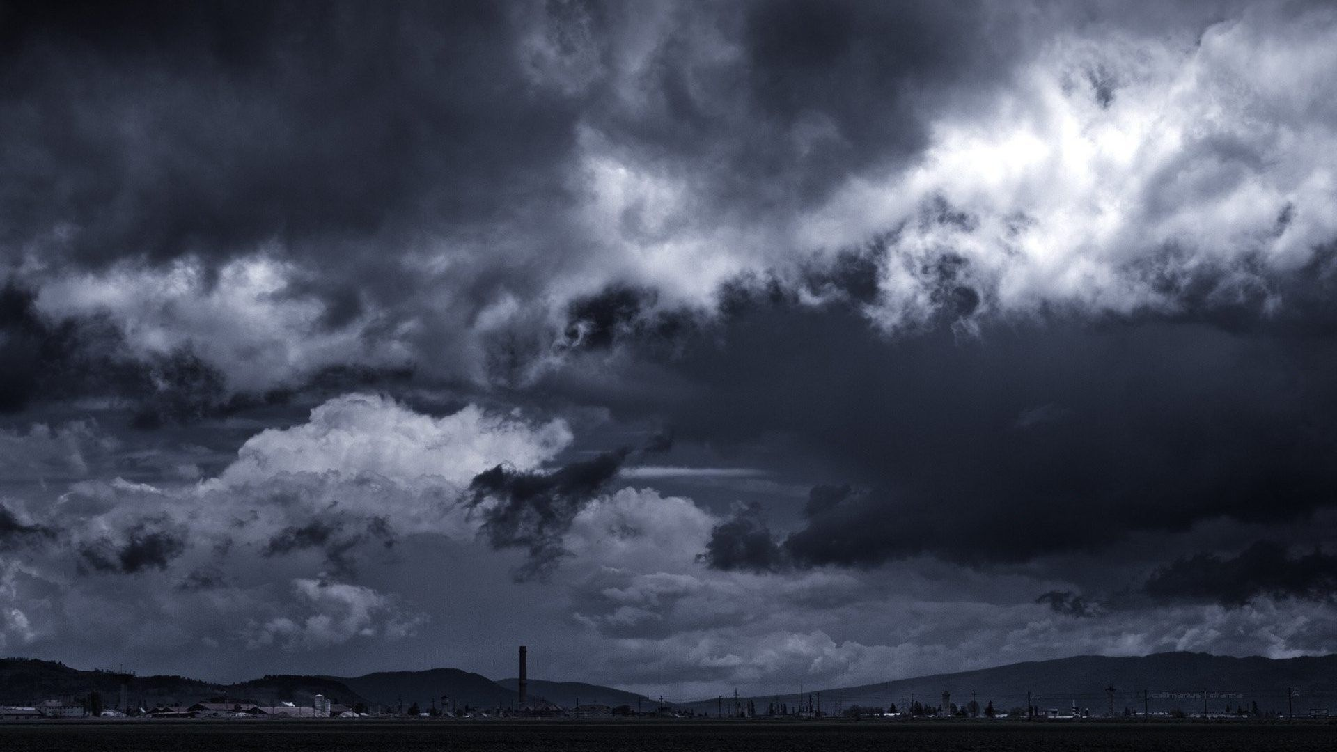 Sky Storm Nature Weather Rain Clouds Best Desktop Wallpapers 1920x1080 Clouds Cloud Wallpaper Desktop Wallpaper 1920x1080