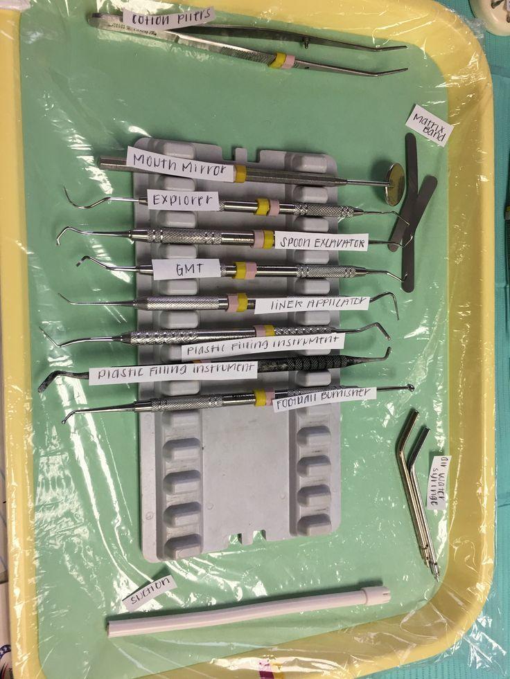 #Assistant #Asst #Composite #Denta #Dental #Set #Tray #ups Composite Tray Set Up. Dental Assistant, DA, Dental Asst., Tray Set ups, Dental Office, Student, Dental Assisting Training #dentalassistant