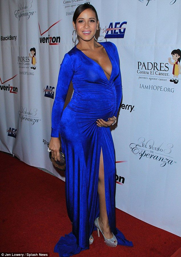 One hot mama-to-be! Pregnant Devious Maids star Dania Ramirez ...
