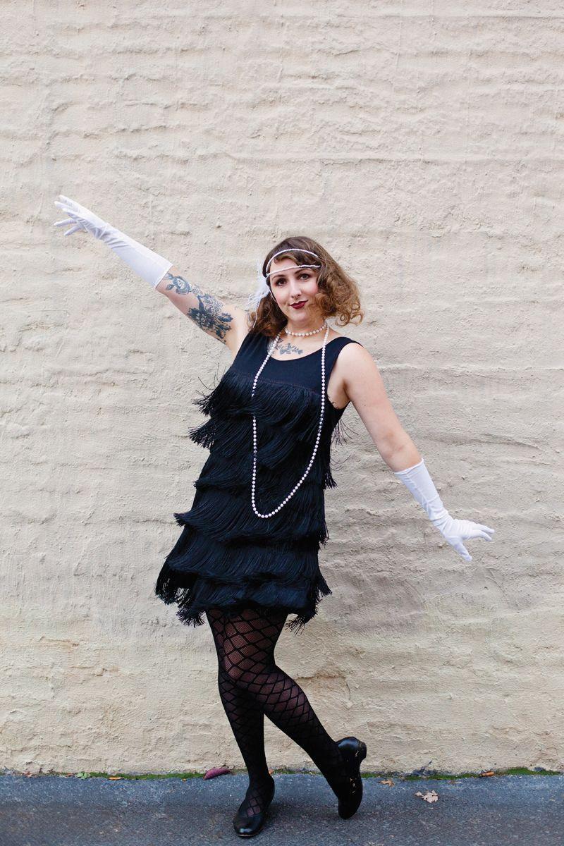 Diy Flapper Costume Diy Fashion Pimp
