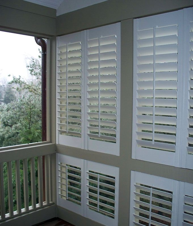Jackson S Window Shoppe Outdoor Shutters Porch Privacy