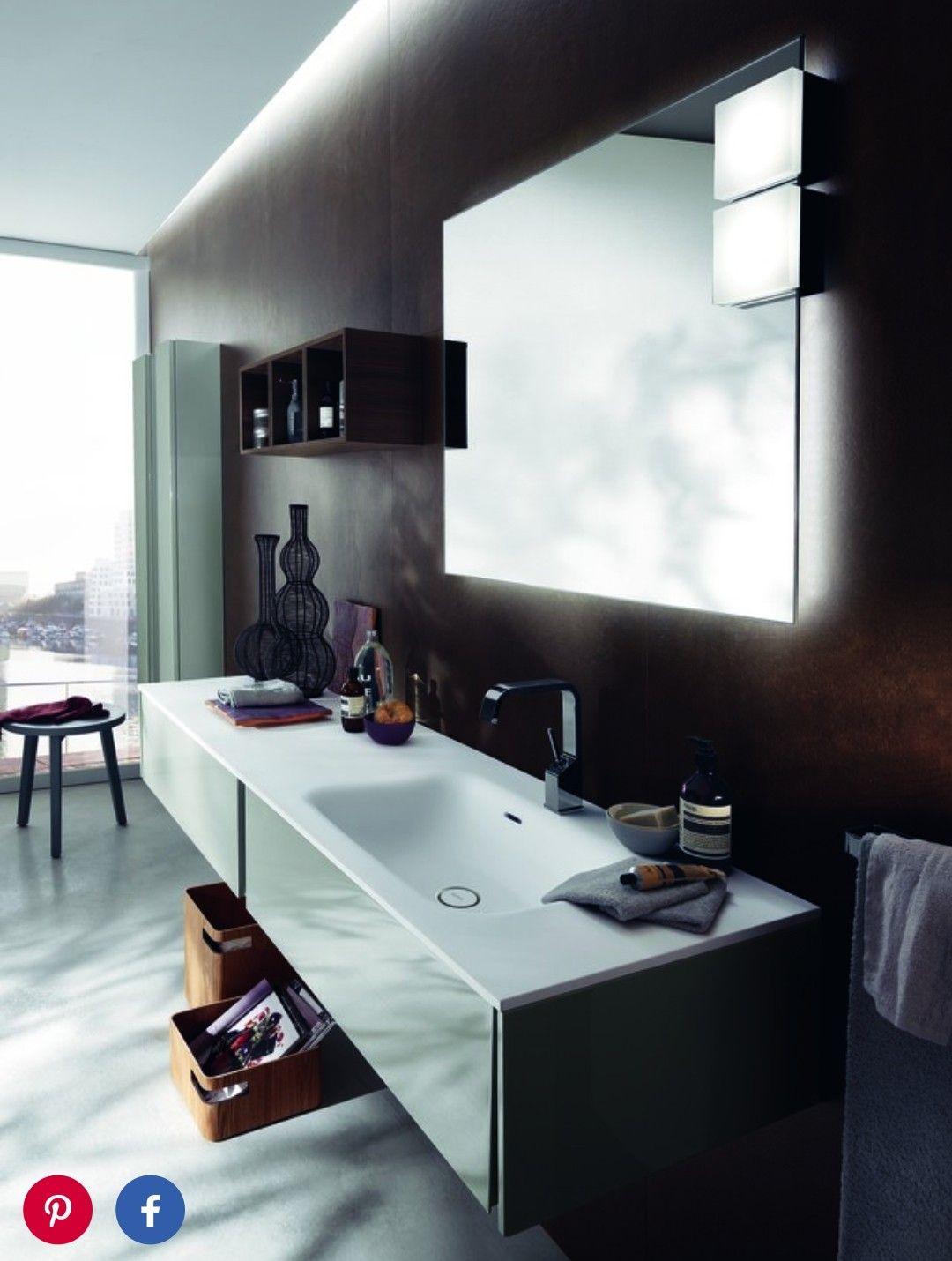 Muebles De Bao Modernos Italianos Excellent Moderno Bao With  # Muebles Tocadores Modernos