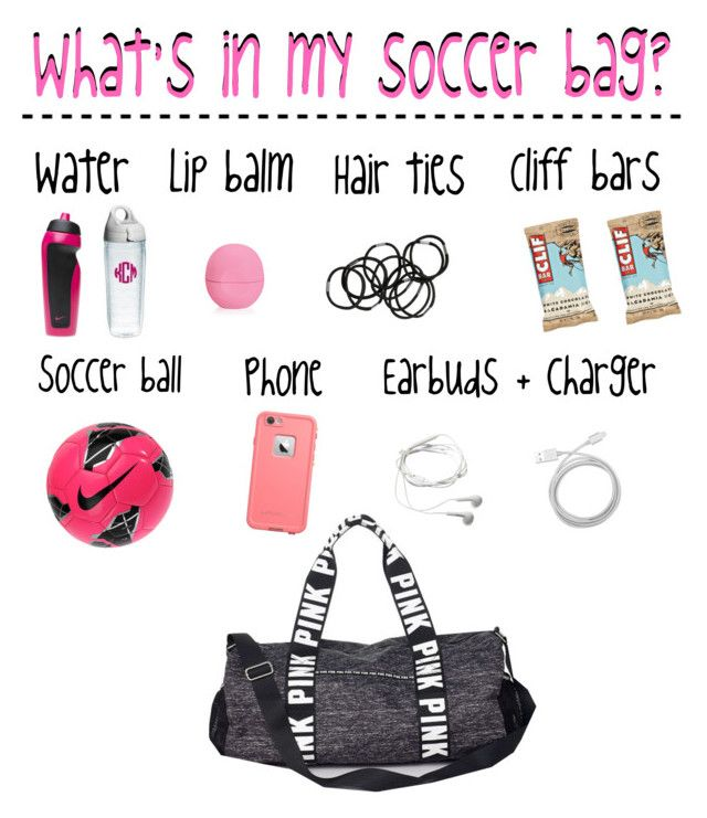 What S In My Soccer Bag By Strawberry Styles Liked On Polyvore Featuring Victoria Secret Pink Monki Nike Eos Belkin Samsung