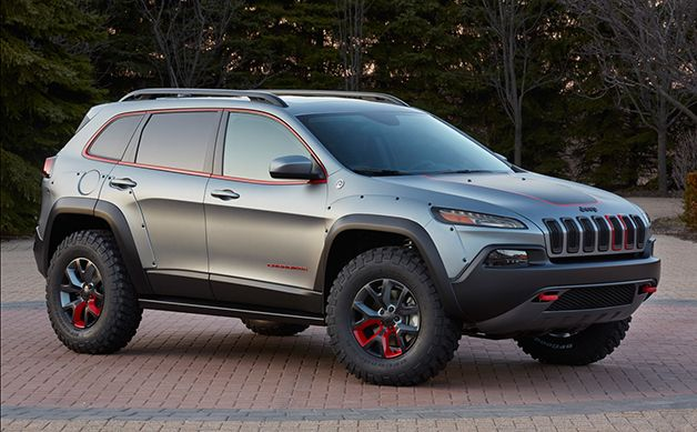 Why Mopar Won T Release A Factory Lift Kit For The New Jeep Cherokee Jeep Concept Jeep Cherokee Trailhawk Lifted Jeep Cherokee