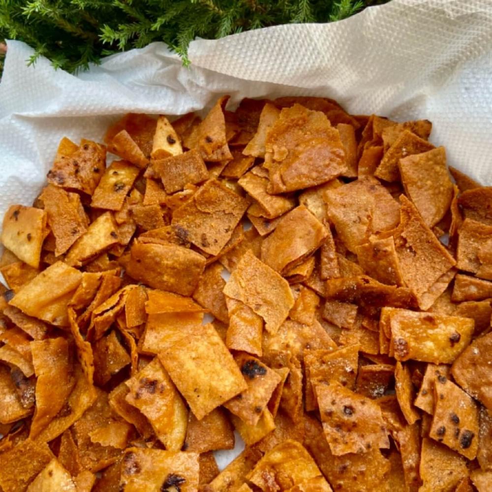 roti chips recipe shellyfoodspot recipe in 2020 chips recipe recipes roti pinterest