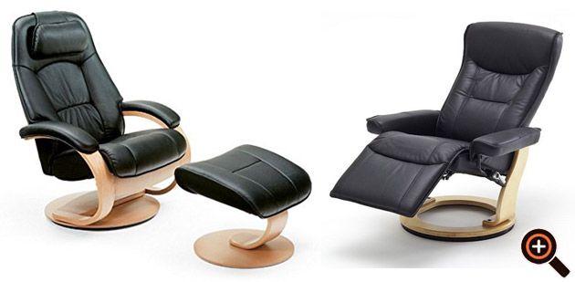 Relaxsessel leder perfektes design komfort f r das for Relaxsessel leder modern