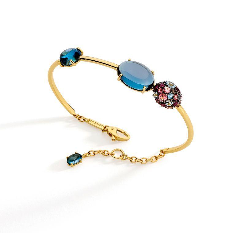 Vacation jewel ready with @brumani Baobab topaz, ruby and diamond bracelet - € 2,978 #Brumani #luxury #jewelry #summer #style #topaz #ruby #diamonds