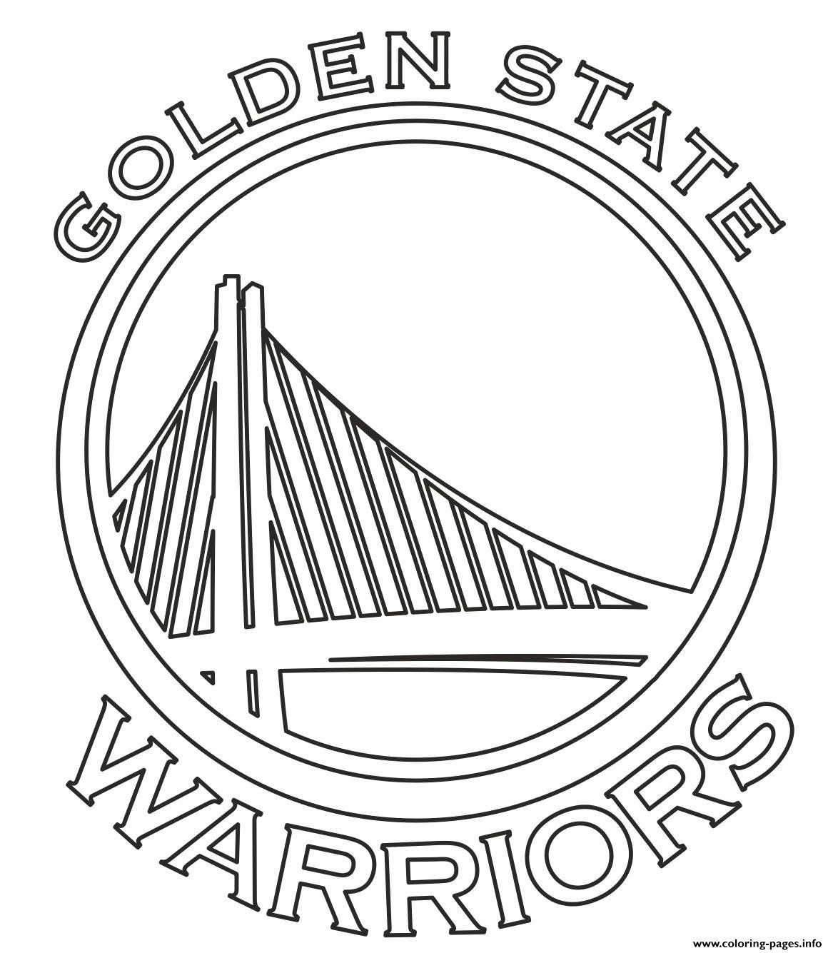 Golden State Warriors Coloring Page Best Of Nba Teams Logo Golden State War In 2020 Golden State Warriors Logo Golden State Warriors Colors Golden State Warriors Party