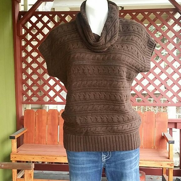 Amazing Brown Turtleneck Sweater Cotton Sweater Brown And Cotton