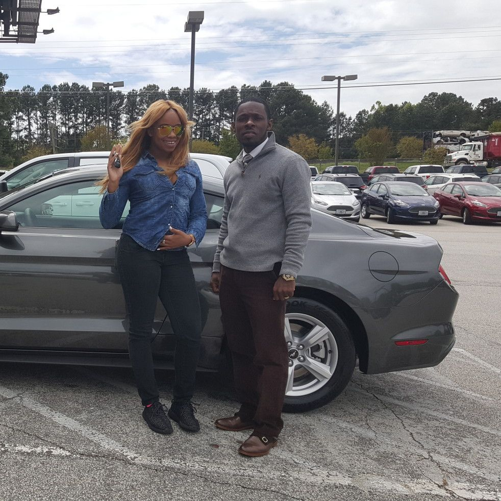 Lauren Stroman Reviews The 2016 Ford Mustang He Purchased From Courtesy Ford In Conyers Ga Ford Ford Mustang Mustang