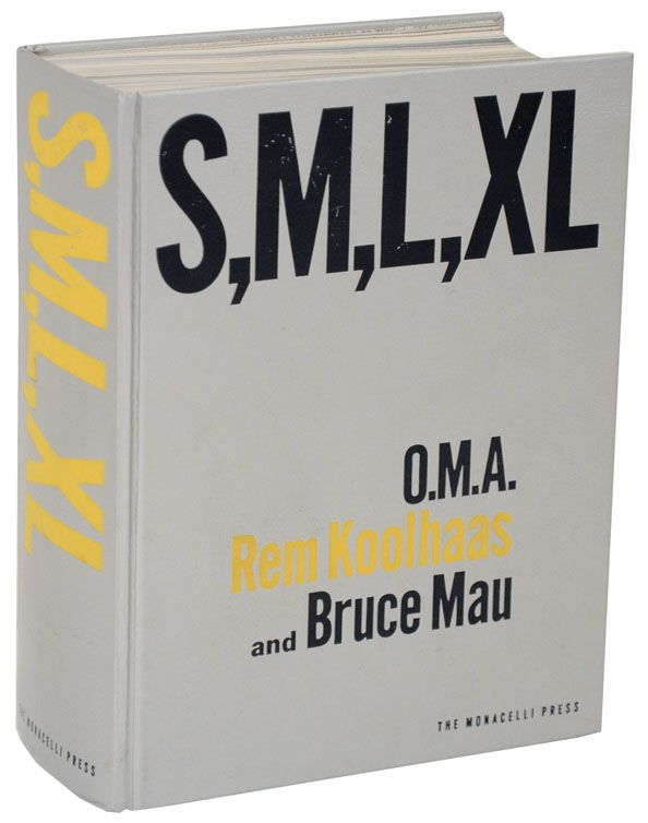 Rem koolhaas bruce mau s m l xl the office of rem koolhaas s m l xl office for metropolitan architecture edition hardcover fandeluxe Image collections