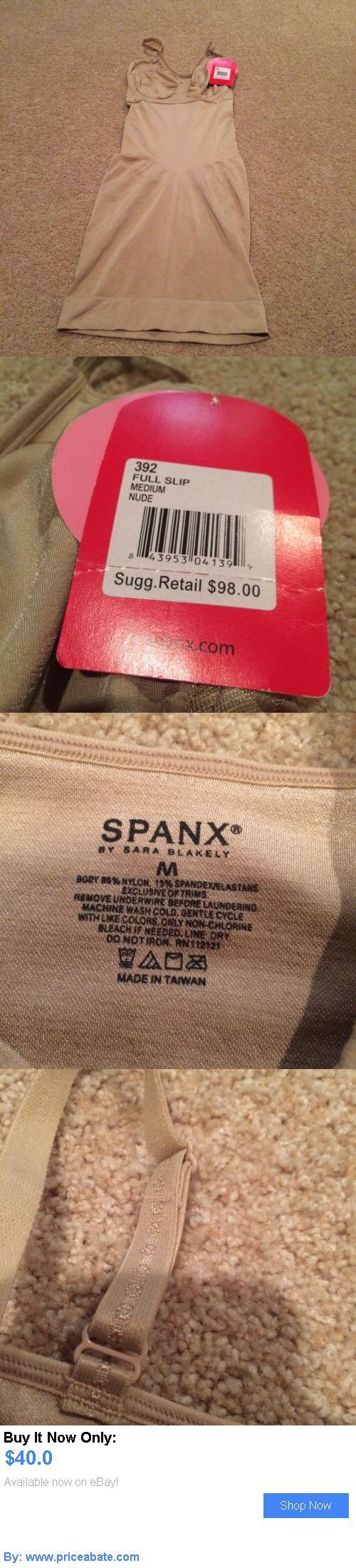 Women Shapewear: Womens Spanx Full Slip Sz M Nude Nwt Great Item!!! BUY IT NOW ONLY: $40.0 #priceabateWomenShapewear OR #priceabate