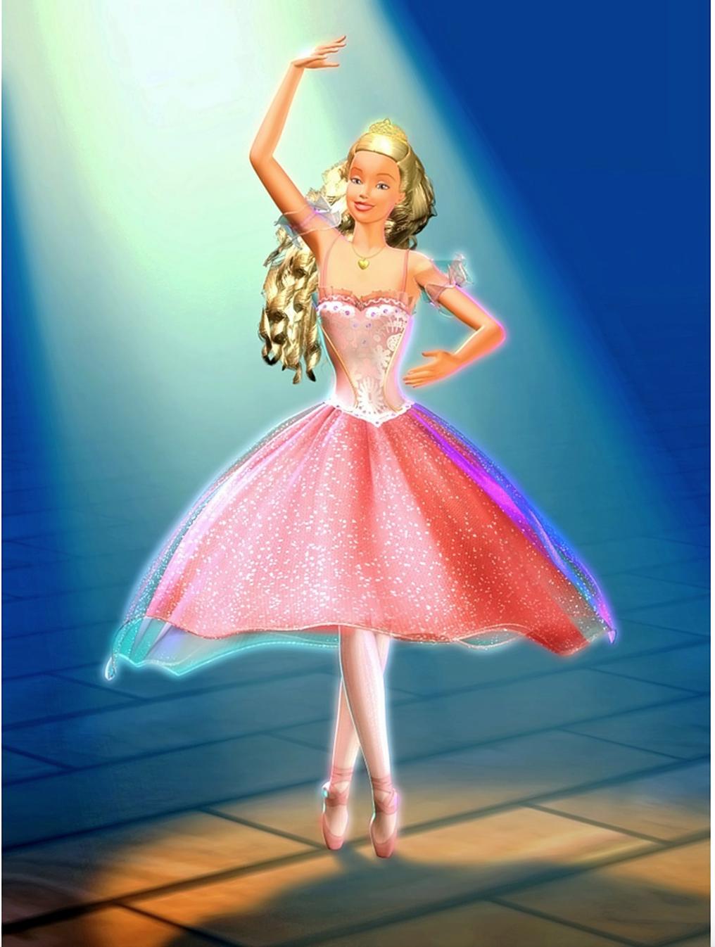 Clara As The Sugar Plum Princess From Barbie In The Nutcracker