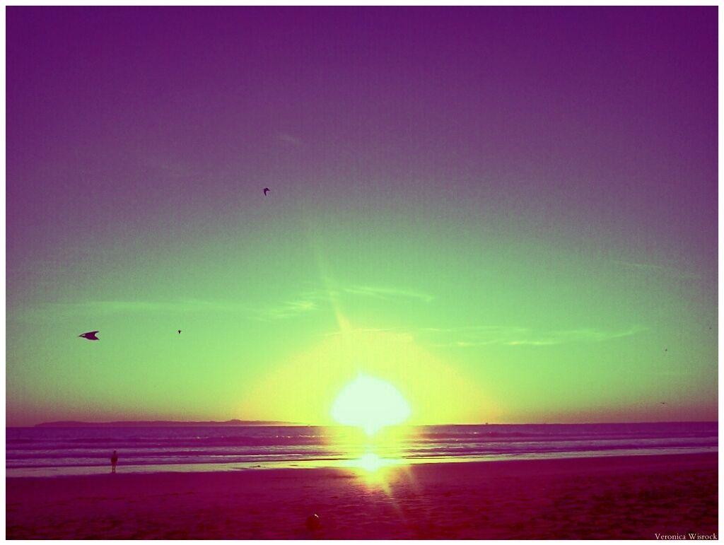 Sunset 01/28/2012 5:09PM  Huntington Beach, CA