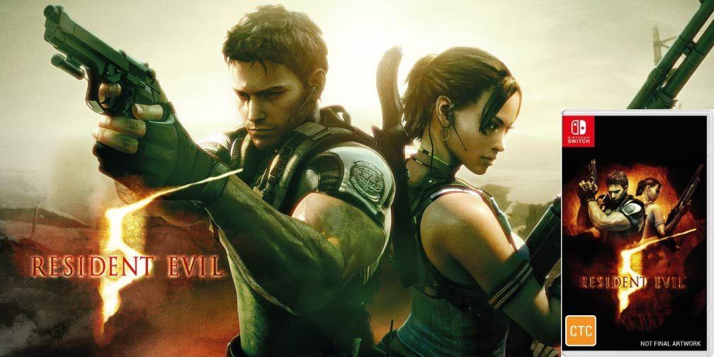 Resident Evil 5 Switch Rom Nsp Games Full X Resident Evil 5 Resident Evil Nintendo