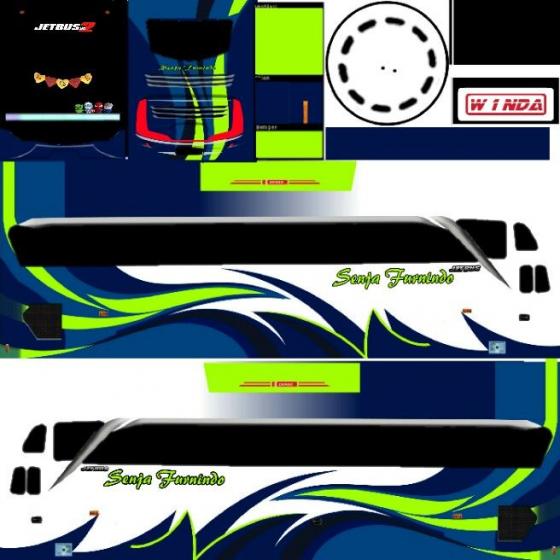 Livery senja furindo. Bus simulator id Maleo bus bus