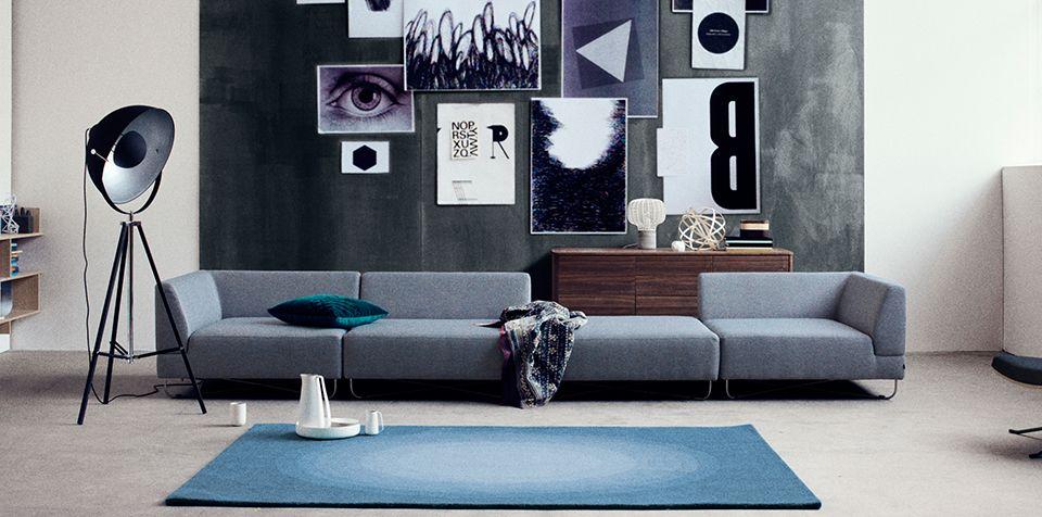 Bolia Orlando Modulsofa Lauter schöne Sachen für zu Hause - wohnideen wohnzimmer moderne