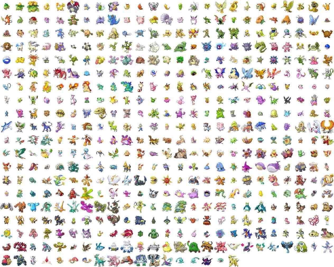 list of all shiny legendary pokemon | Rufus | Pinterest ...