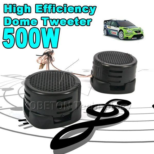 2016 New Universal Car Mini Dome Tweeter High Efficiency Portable 2x500w Loudspeaker Loud Speaker Super Power Audio Sound Klax Audio Sound Speaker Super Powers