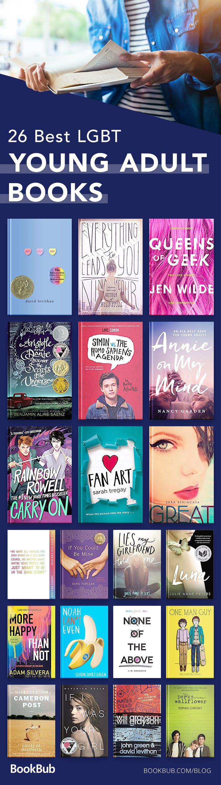 27 Excellent LGBT YA Books to Add to Your Reading List #dolistsorbooks