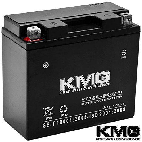 Kmg Yamaha 600 Fz6 R 2005 2012 Yt12b Bs Sealed Maintenace Free Battery High Performance 12v Smf Oem Replacement Main Yamaha 650 Snowmobile Automotive Solutions