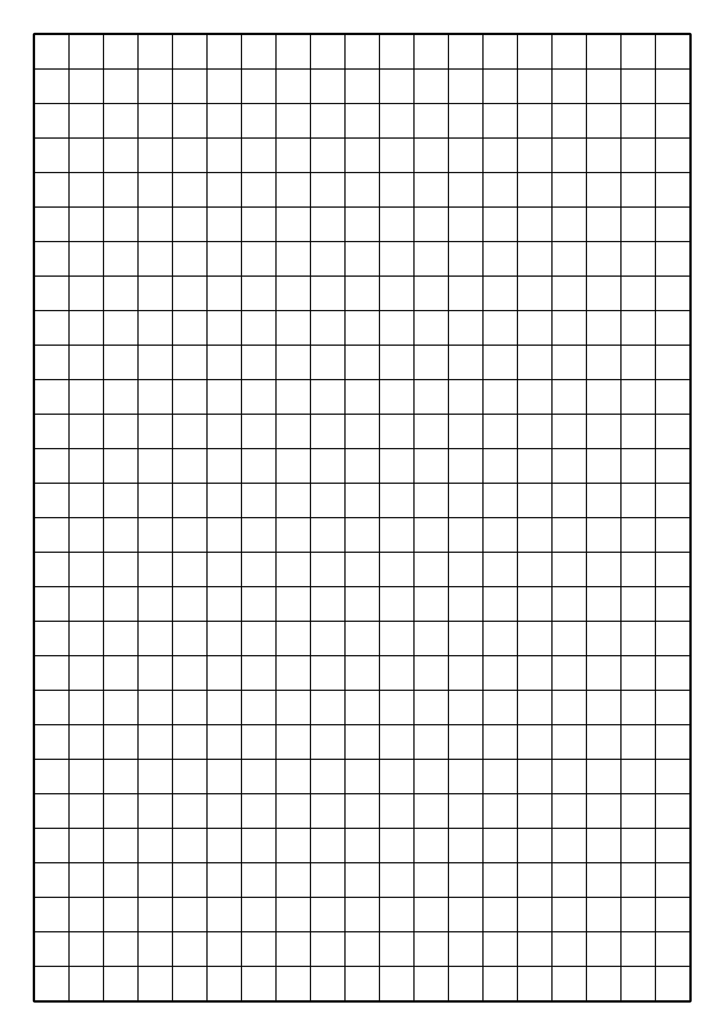 Graph Paper 1 Cm Squares