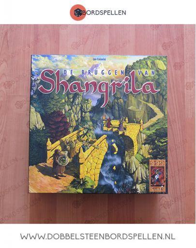 De bruggen van shangrila bordspel kopen bij dobbelsteenbordspellen voor €14,99. #shangrila #bordspel #999bordspel