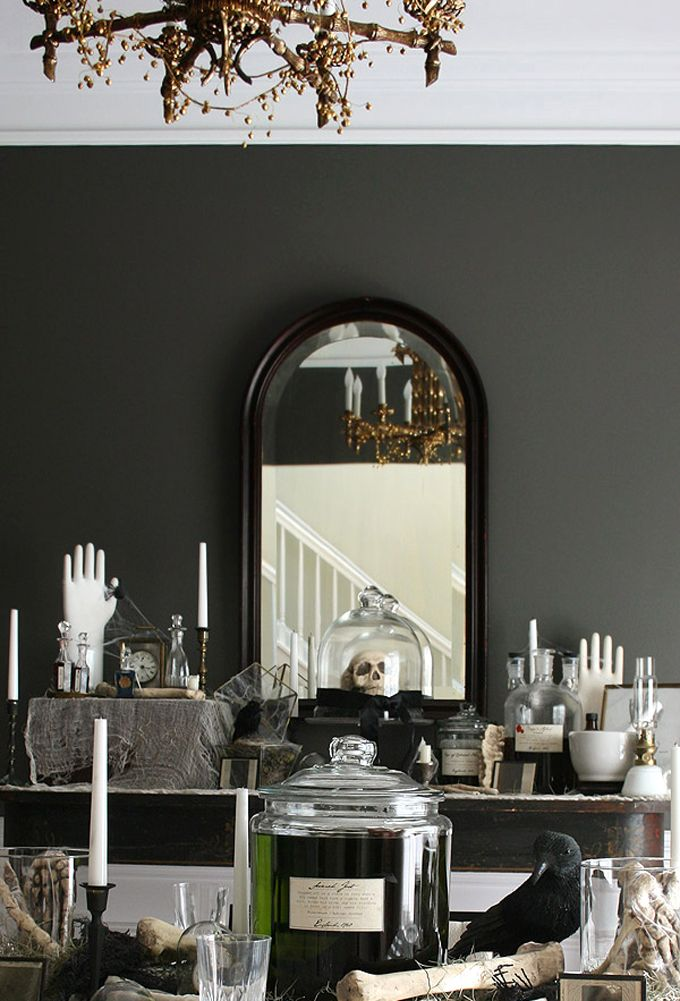 Dinner Party Ideas For 20 Part - 32: 20 Stylish Halloween Décor And Party Ideas