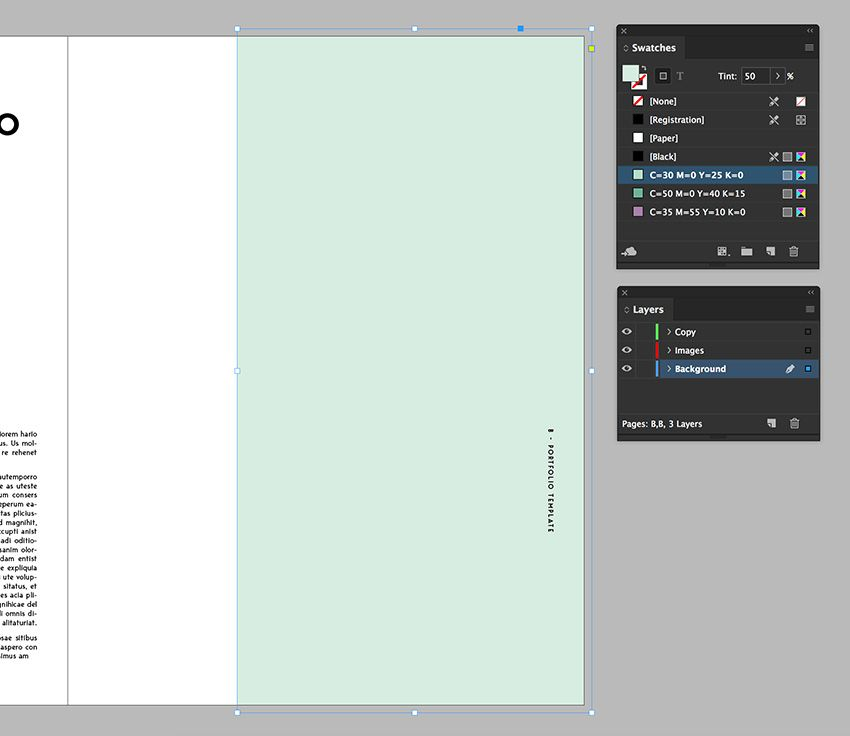 How To Make Stylish Layouts For A Portfolio Template In Indesign In 2020 Portfolio Templates Indesign Indesign Portfolio Template
