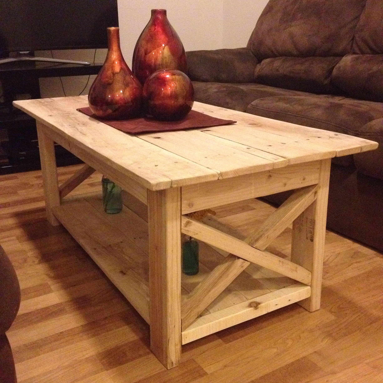 Pallet wood coffee table | Pallet wood coffee table, Made ...