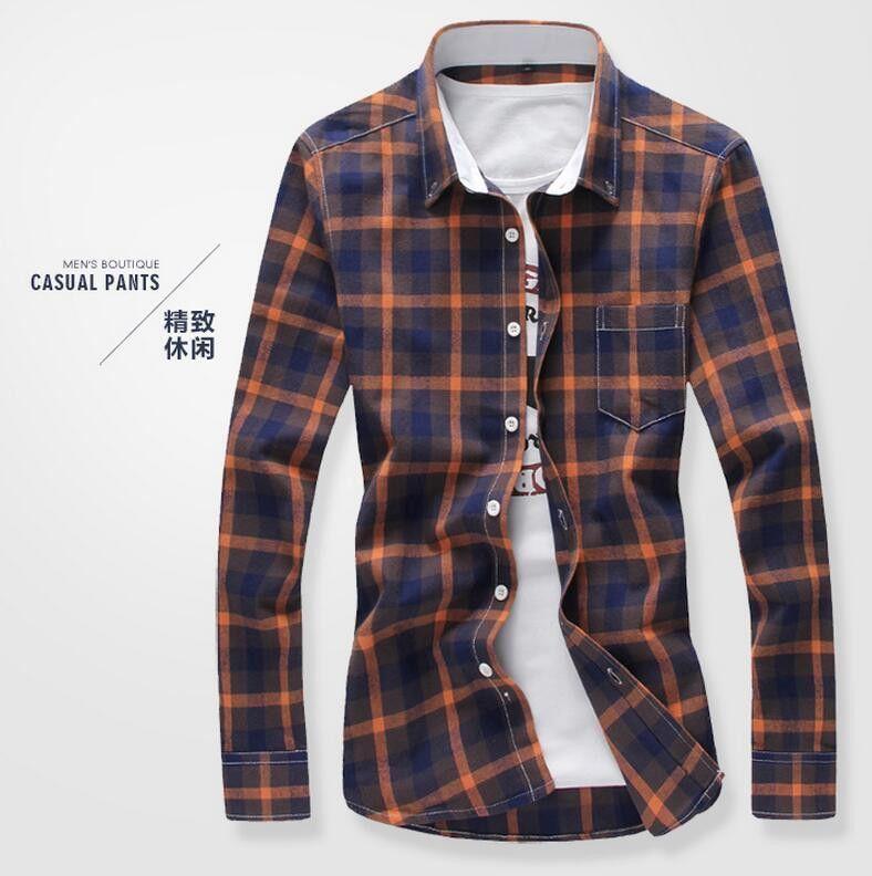Brand Men's Shirts Hot 2017 New Men 's Casual Shirts Classic ...
