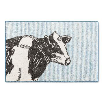 Cow Kitchen Rug Blue - Threshold™ | New Home | Pinterest | Cow ...