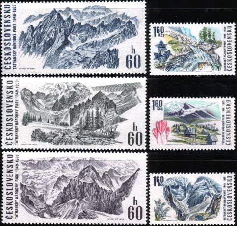 Czec Tatra national park 6v