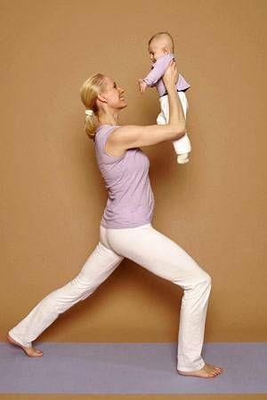 Yoga übungen Rückbildung Nach Der Geburt Mit Yoga