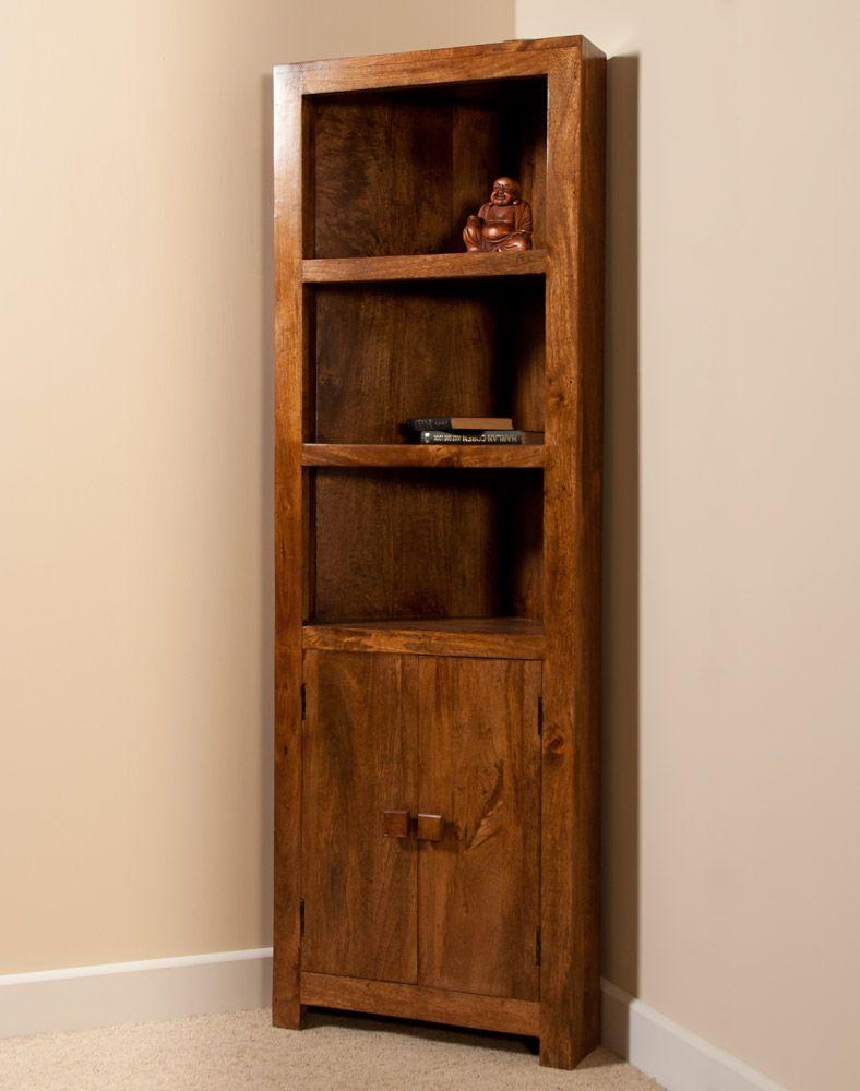 corner shelves furniture. Interesting Shelves Corner Bookcase Furniture  Beautiful Solid Indian Mango Corner Bookcase To Shelves O