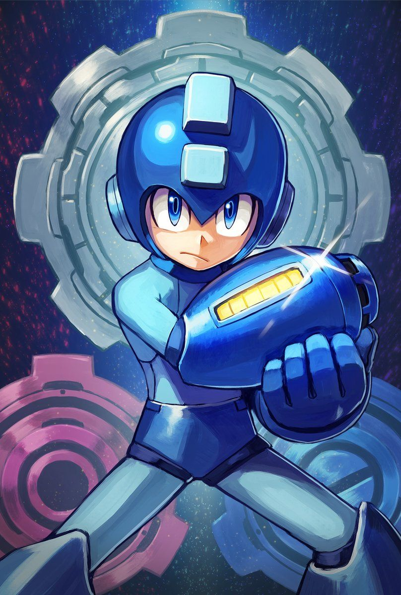 Pin By Axel Castro On Fav Taste Mega Man Art Retro Gaming Art Mega Man