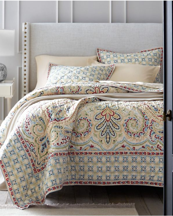 BEAUTIFUL XXL MODERN RED BROWN TAUPE CABIN LODGE COZY QUILT BEDSPREAD SET NEW