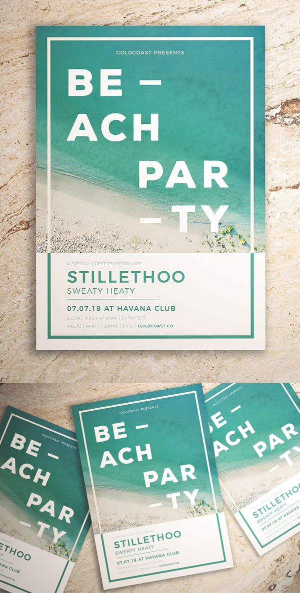 Elegant & Creative Flyer templates (2018) | Advertising | Afiches ...