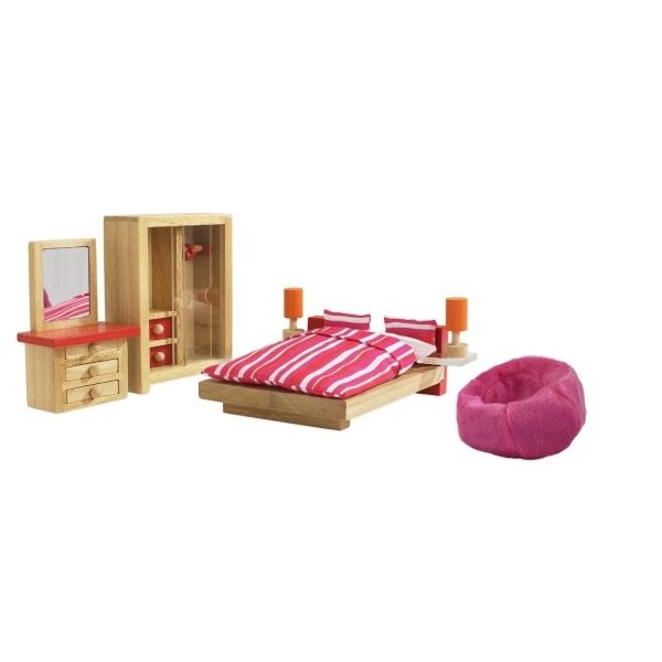 It Is A Bedroom Furniture Set For The Basic Dollhouse Kids Could Put Them In The Dollhouse In The Way They Like Which Gives Them The Idea Of Tiding Up Their O