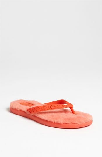 f69ab7404 UGG® Australia  Fluffie  Flip Flop (Women) available at  Nordstrom...hmmmm  for those cool summer nights !