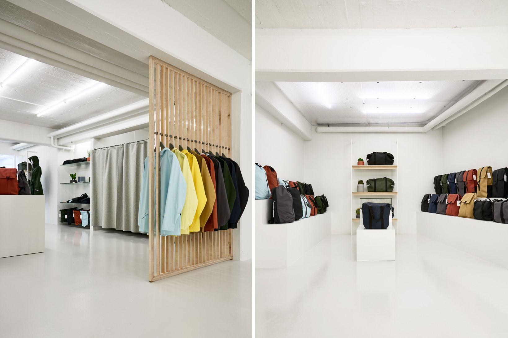 Rains Concept Store In Aarhus, Denmark Exemplifies Its Ultra Clean Aesthetic
