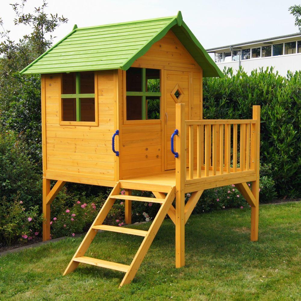 Ihr Kind Wird Sie Noch Mehr Lieben Amp X21 Sie Brauchen Dieses Kinderspielhaus Dieses Haus Ist Bereits V Kinderhaus Spielhaus Holz Selber Bauen Stelzenhaus