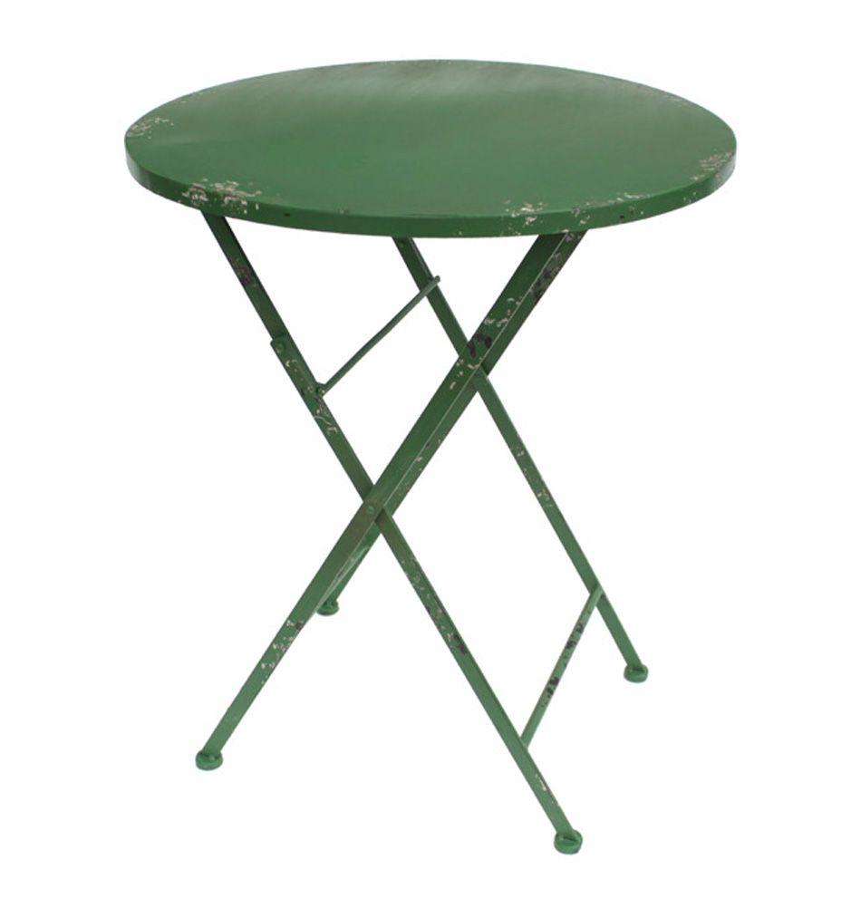 Eisentisch Klappbar Gentile Grun Eisentisch Tischplatte