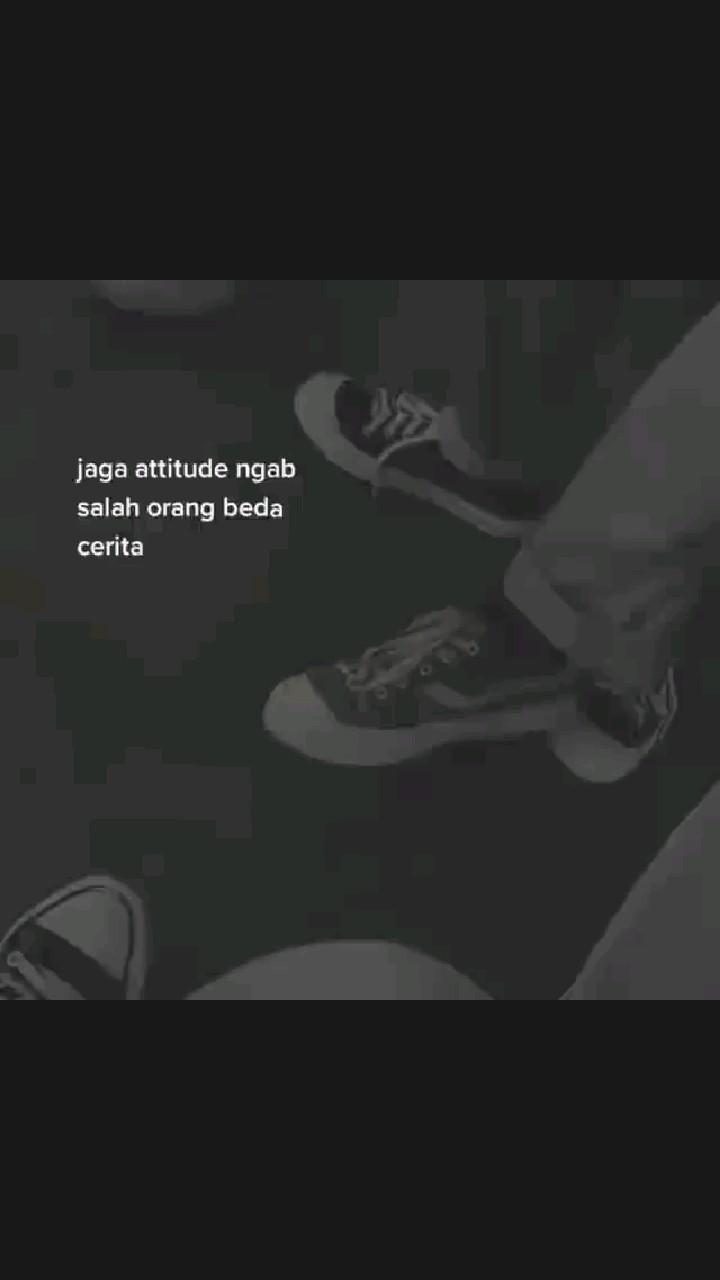 Perbaiki attitude